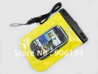 Чехол для для мобильных телефонов Waterproof Vacuum Seal Bag & Earphone for Mp3, Mp4, iPod, iPhone Black White and yellow Color +Drop Shipping