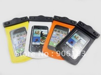 New Model Deisgn Phone Waterproof case Durable PVC Waterproof Bag Underwater Case For iPhone 4G/4S FREE SHIPPING