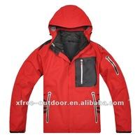 Factory price windproof  3 in 1 nylon jacket