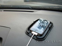 Free Shipping Car Non-slip Mat Mobile Phone Holder Navigation Mounts for iphone Mp4 GPS  10pcs/lot