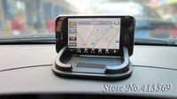 EMS Free Shipping Wholesale New arrival Silicone non slip Car phone holder for iphone Mp4 GPS  50pcs/lot