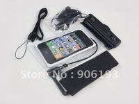 Hot selling!!!Free shipping NEW Underwater Waterproof Case Bag Pouch For iphone4/4s+dropshipping