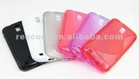 1XS Line Soft Gel TPU Case Cover for Samsung Galaxy S 2 II T989 Hercules+Screen Film