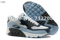 Free Shipping The new color 90 87 style 2012  Men's Running Sport shoes Sneakers Footwear  Shoes C390 Size:40-45