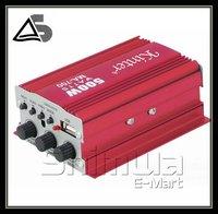 2 CH Digital Audio Power Amplifier Car Boat Home Hi-Fi Stereo mp3 AMP DHL freeshipping