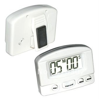 Digital Kitchen Count Down Timer LCD Display Alarm Clock for Home Cooking High Quality Mini New Arrival Freeshipping 10 pcs(China (Mainland))