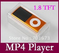 Cheap digital MP4 Player 8GB N4 1.8inch Screen MP3 Player with retail box Drop ship CN post free