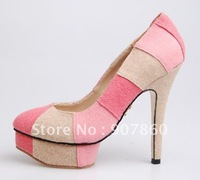 new style Women's sexy shoes Fashion high-heeled shoes