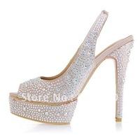free ship Fashion high-heeled shoes Wedding high-heeled shoes