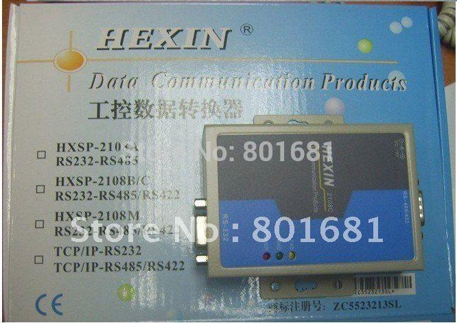 Hxsp-2108c промышленного класса с оптическим изолированных rs232 в rs485 /