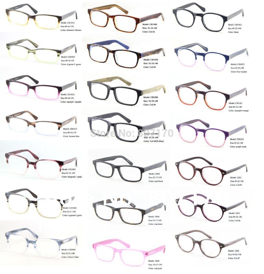 Eyeglasses frames in style - Sales Women Glasses Frames Men Eyeglass Optical Frames Gafas Vintage Glass Round Glasses Retro Frames Fashion Eyes Oculos 24pcs