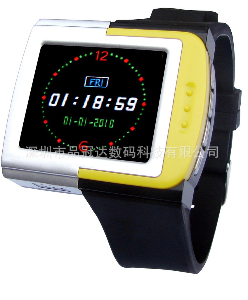 free shipping Micro SD Card Reader MP3 MP4 watch 5 colors available(China (Mainland))