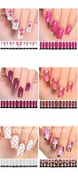 Nail art watermark full sticker nail stickers post-it note water transfer printing