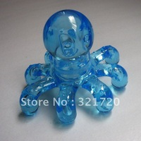 Free shipping Crystal massage Body massage roller Octopus massager Color random delivery