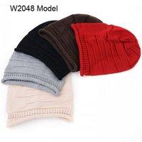 NEW 10pcs Mens Winter Hats Crochet Slouchy Beanie Womens Skull Beanies Caps Knit Slouch Women Baggy Rolled Brim Oversized Cap