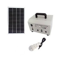 Free Shipping High Quality Solar Power Generator for Rural Home Emergency Lighting Bright LED Lightinrg Generator