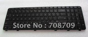 Laptop keyboard for Pavilion DV6 DV7 DV6-6000 DV7-6000 Black US version - 634139-001  ,new and original