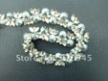 Free Shipping Flower Shape Chain Gray Color Accessories for Garment