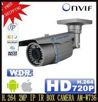 "H.264 1/3"" 4/6 mm Fixed Lens Megapixel Onvif CCTV IR IP Camera CMOS Waterproof Housing Outdoor Use security camera FreeShipping"