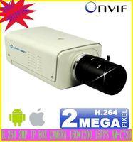 "H.264 1/3"" 4/6 mm Fixed Lens Megapixel MP CCTV IP Camera CMOS Sensor Progressive Scan With WDR security camera FreeShipping"