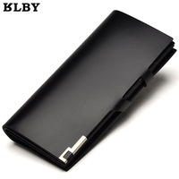 Free Shipping Genuine Leather Brand Male Wallet  Long Design MenCowhide Clamours Wallet  Purse For man