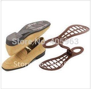 free shipping Fashion shoe save Plastic Shoe Storage holder rack shelf storage dropship