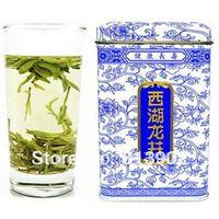 75g Fresh West Lake Longjing Dragon Well Green Tea gift packing green tea Chinese tea xi hu longjing , GT002 ,Free shipping