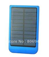 2600mAh Multi Purpose Solar Mobile Charger for Phone IPAQ MP4 MP3 Digital Camera- P1100F 09 Blue