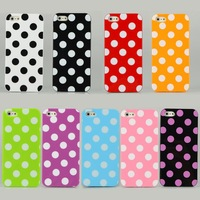 10PCS New Silicone protection Hard Plastic Back Case Cover For iphone 5G CM146