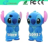 Wholesale Free Shipping Cartoon Lilo&amp;Stitch Mobile Phone Case for iPhone4 &amp; 4S