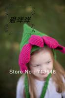 Головной убор для девочек cute owl baby hat and shorts handmade crochet photography props baby hat and shorts