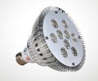 DHL free shipping 9w PAR38  led light led spotlight