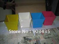 Small 9cm square shape Wedding Favour Pail Bucket Table Decoration More Colors