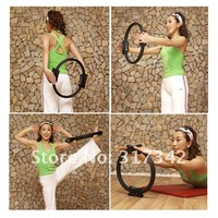 Pilate Ring Yoga Circle Magic Fitness 1pc Free Shipping PE-9206