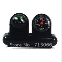 free shipping new manufacturers car compass guide ball and portable thermometer car products
