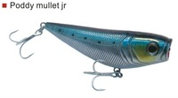 lot of 3 pcs poddy mullet jr 100,weight 34gm,length:10cm different color pop fishing lure