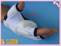 Free Shipping! white  color Boxing gloves, Brand sandbag training glove, Good quanlity