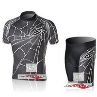 Free shipping! 2010 Spider NW team cycling jersey and shorts / short sleeve jerseys+pants bike bicycle wear set COOL MAX