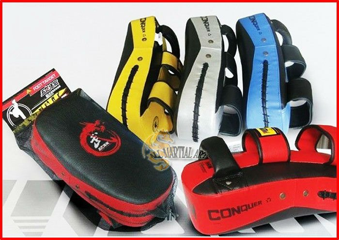 Free shipping 10 pcs / lot High Quality MMA Muay Thai Sanda Punching & Kicking Target Pads Shield PU Leather 4 colour (KPPA025)(China (Mainland))