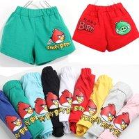 Kids Children summer Wear Heigth 90~130 Children's clothing  Boys Girls Grid Jeans Trousers short  Pants