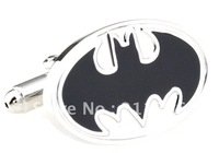 novelty  Design  bat man cufflink fashion  cuff links for men  A249 cuff links