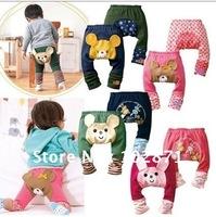 retail ! 2014 NEW children's wear leggings autumn baby cotton PP pants legging pants gift  baby clothes