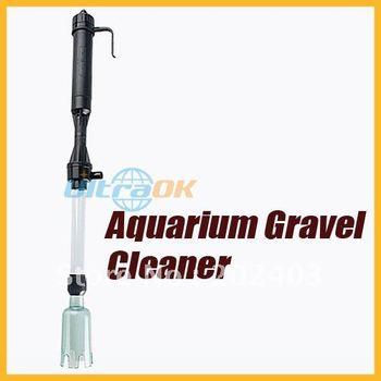 Aquarium Siphon Vacuum Gravel Water Filter Auto Fish Tank Cleaner Washer