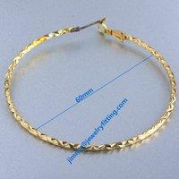 Earring fittings hoop earring  loop findings earring components   wholesale price