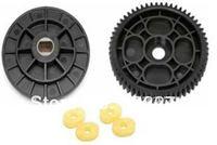 Free Shipping-Plastic Spur Gear set - 57T - For Baja 5B/5T/5SC,Gas Rc Car Part