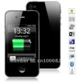 New w008 Android 2.3 Smartphone with Quad Band Dual SIM 3.2 inch Analog TV WiFi MTK6513 (Black and white) drop shipping