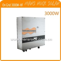 3000w solar inverter,  on grid, with 1 MPPT, high frequency transformer, waterproof IP65, Free shipping!