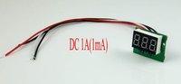 "DC 0-1A  0.36"" Blue LED Digital Ammeter 999mA AMP Pannel meter Power by 4.5-28VDC"