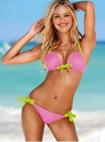 2012sexy ladies' brand candy swimwear/ beachwear/bikini/bathing suits push up design free shipping