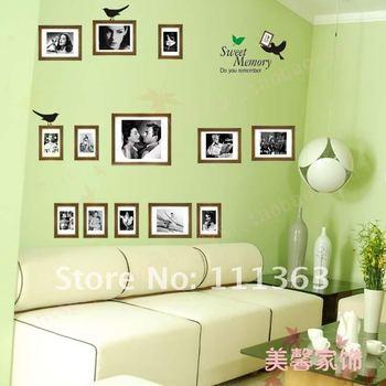 Free Shipping Classic Sweet Memory Marilyn Monroe wall sticker /house / room  decorative wall sticker Wholesale 20pcs/lot